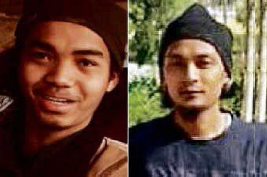 Mohd Amirul Ahmad Rahim (left) blew himself up in Raqqa, Syria, on Dec 29, while Mohamad Syazwan Mohd Salim (right) was among seven suicide bombers who killed 12 policemen in Tikrit, Iraq, on Jan 3. Until recently, Malaysians and other non-Arabs who