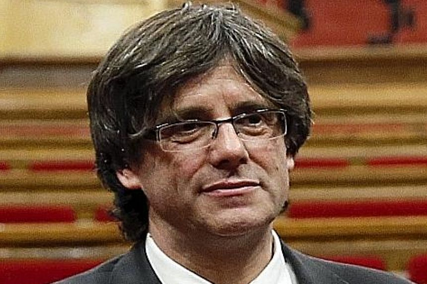 New Catalan President Carles Puigdemont comes from a fervently pro- independence family.