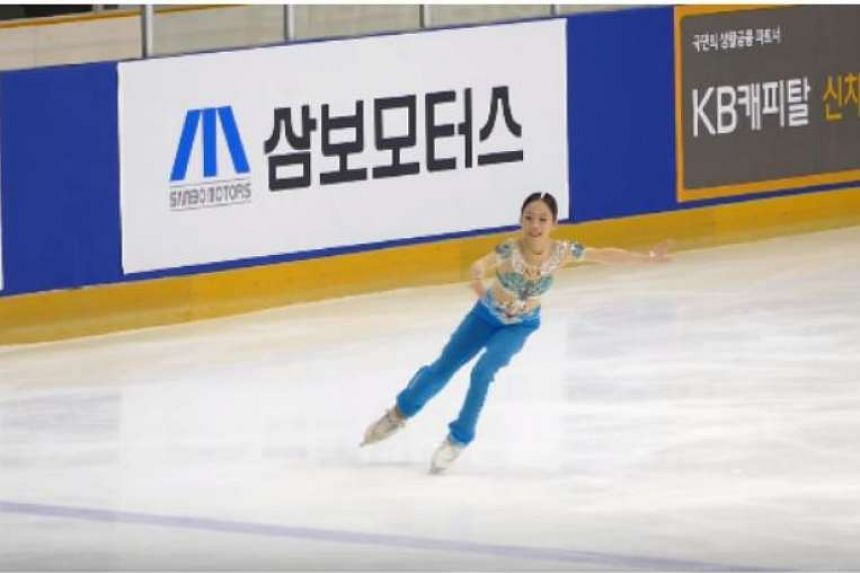 Eleven-year-old You Young is South Korea's youngest-ever national figure skating champion.