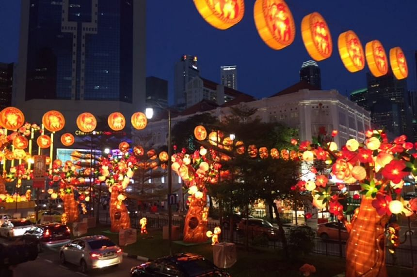 This year's CNY light up at Chinatown.