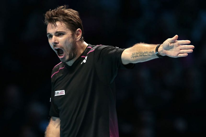 Stan Wawrinka lives by the words on his tattoo which say: ''Ever tried. Ever failed. No Matter. Try again. Fail again. Fail better.'' The Swiss believes that a defeat is essentially an opportunity to learn to become a better player.