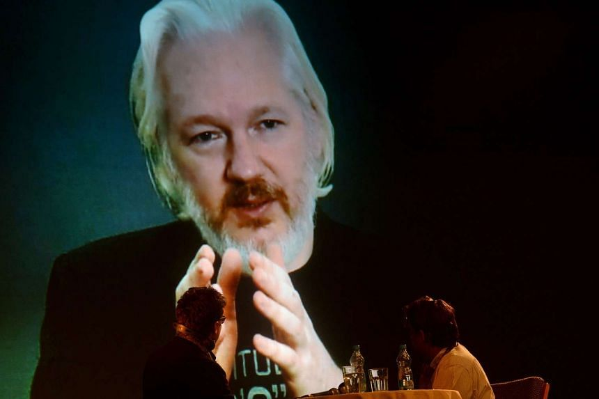 Sweden had formally asked Ecuador for permission to interrogate Julian Assange (above).