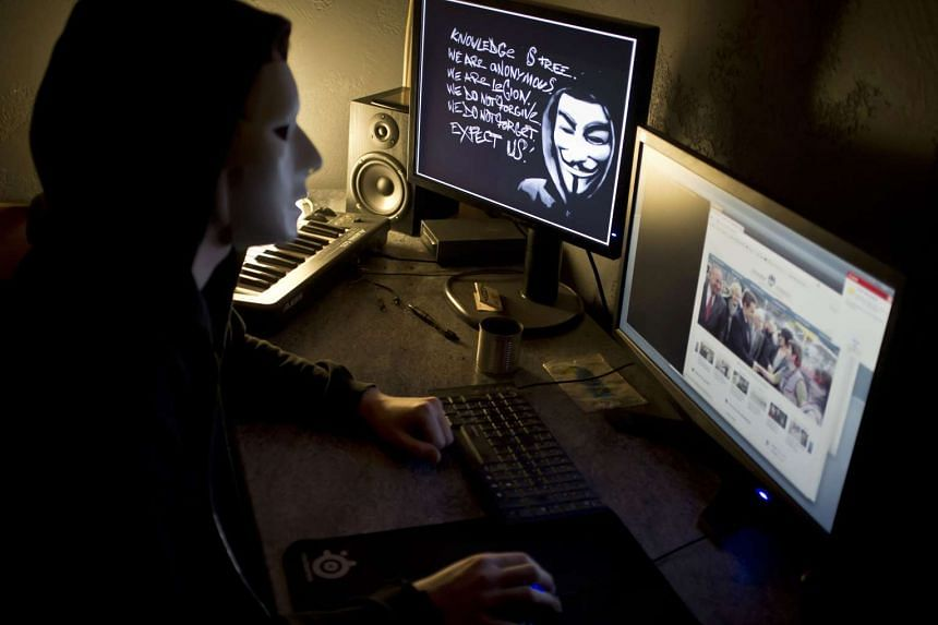 Anonymous said it had shut down Thai judicial websites in protest over the verdict on their Facebook page.