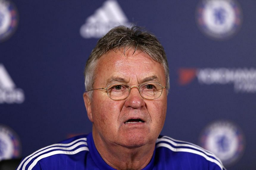 Chelsea manager Guus Hiddink.