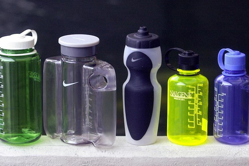 Reusable plastic water bottles here are generally safe to use.
