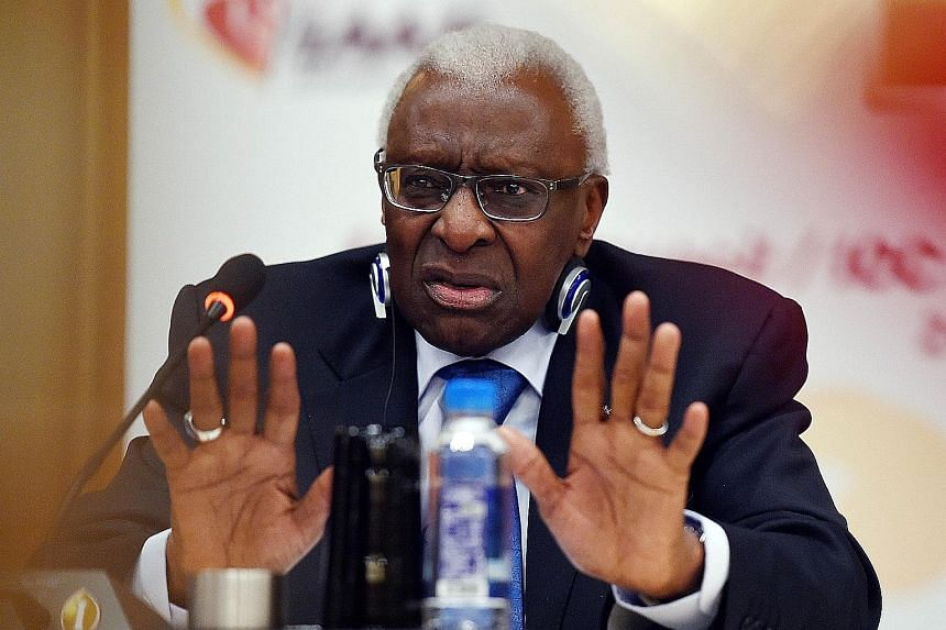 Former IAAF president Lamine Diack is being probed over allegedly accepting bribes to cover up positive drug tests and has resigned as an IOC honorary member. His son Papa Massata, meanwhile, has been banned for life by the IAAF over blackmailing ath