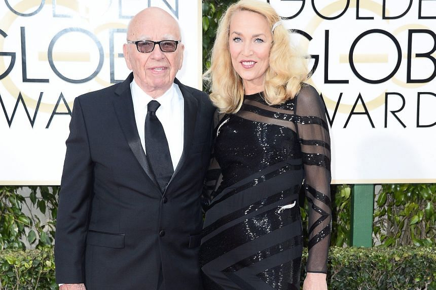Media magnate Rupert Murdoch and model Jerry Hall plan to get married.