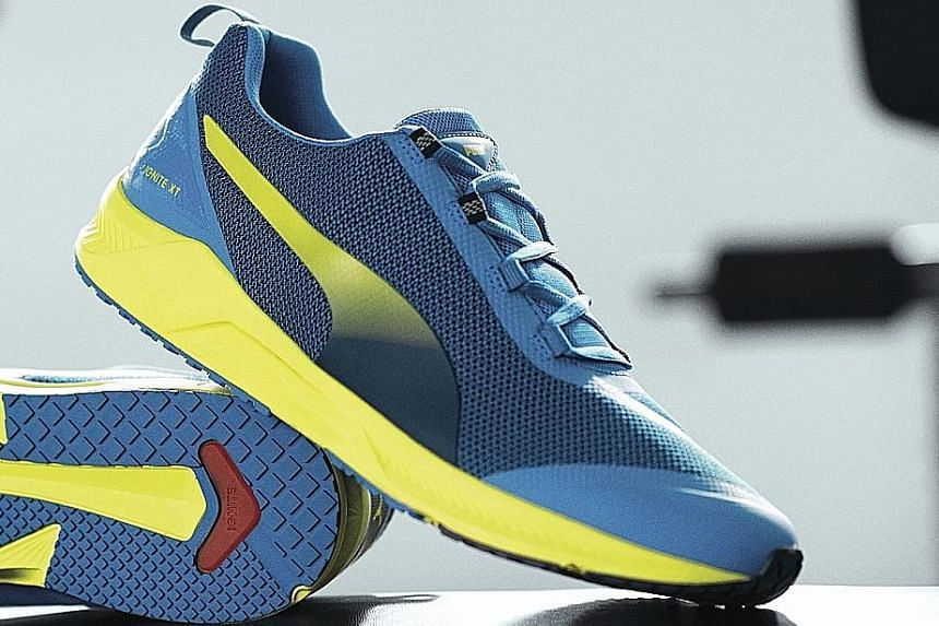 The shoe's proprietary Ignite foam midsole delivers responsive cushioning, optimal energy return and comfort.