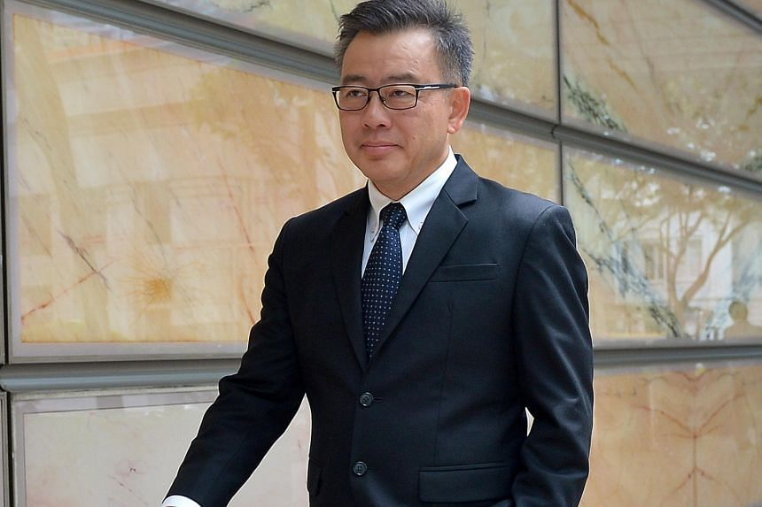 Hainan Tan Clan Association former deputy president Tan Khin Pang and former presidents Tan Han Kwang and Tan Boon Hai are being sued by ex-MP Sin Boon Ann (above) over the allegations, which were the result of events leading up to the December 2013 clan