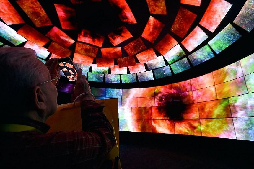 A video wall at LG's booth was one of many technological attractions that wowed the crowds at last week's CES 2016, held at the Las Vegas Convention Centre.