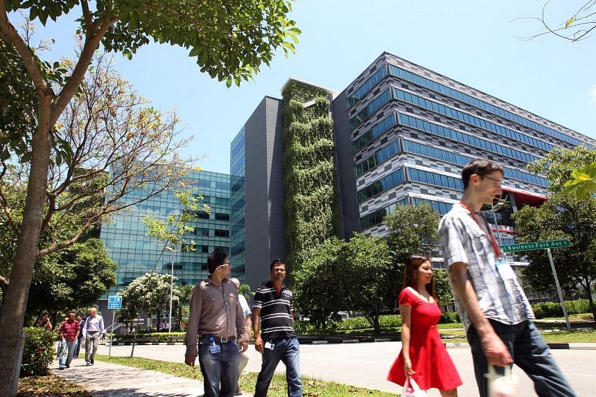 Changi Business Park. With about 1.5 million sq ft of lettable space being completed this year, rents at business parks are expected to face more downward pressure.
