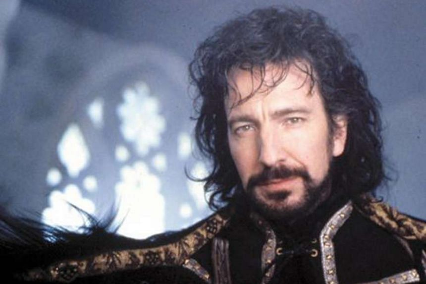 Alan Rickman in Robin Hood: Prince Of Thieves.