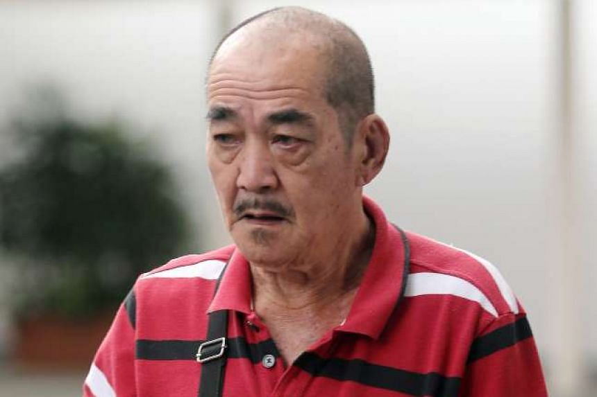 Yoo Song Waet (pictured) was sentenced to four weeks' jail after he admitted to punching Mr Amin Aziz.