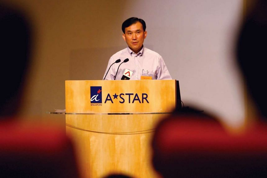 A*Star chairman Lim Chuan Poh announces new national cybersecurity laboratory at NUS.