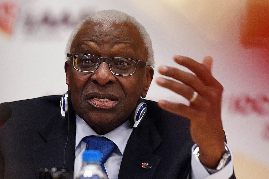 An internal briefing in September 2012 for then IAAF president Lamine Diack estimated that 42 per cent of tested Russian elite athletes doped.