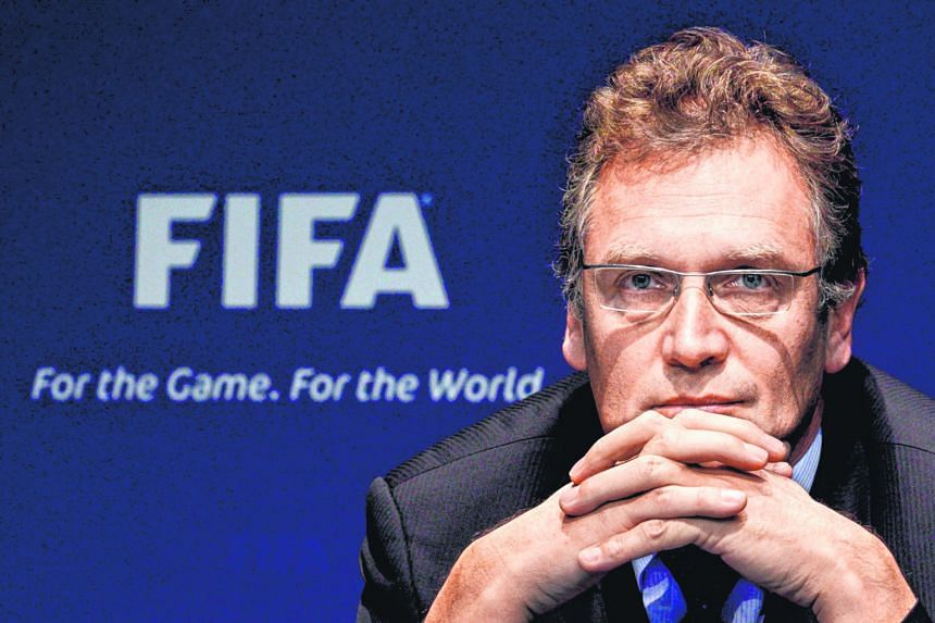 Jerome Valcke has paid the price for his indiscretions as Fifa sacked him from his secretary general post. PHOTO: REUTERS