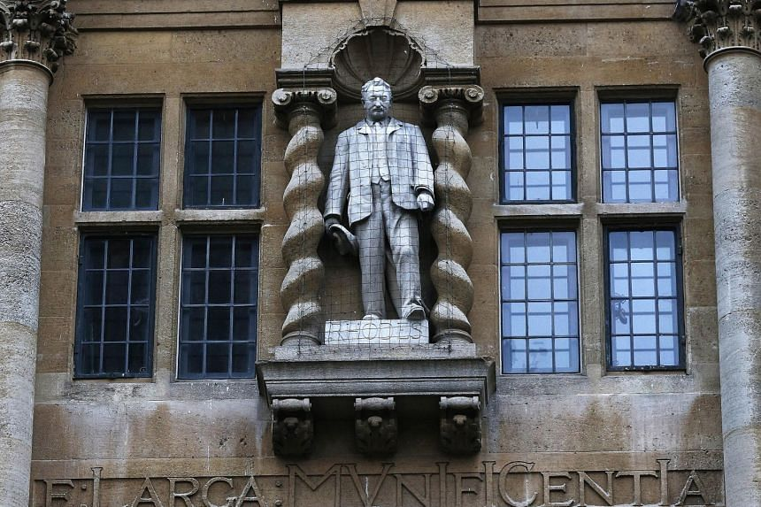 The push to remove the statue of Cecil Rhodes from Oriel College at Oxford University has ignited a debate about Britain's colonial past.