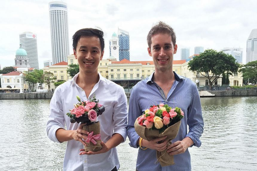 A Better Florist, co-founded by Mr Lee Jun Wen (left) and Mr Steve Feiner, imports flowers directly from Cameron Highlands, which cuts out the middleman, passing on savings to customers.