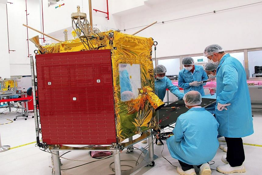 One of the milestones of 2015 for ST Electronics was launching Singapore's first commercial earth observation satellite on Dec 16. The satellite was developed and built by ST Electronics.