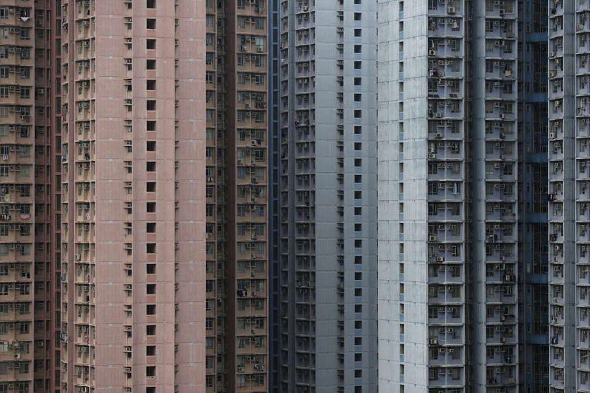 Public housing in Hong Kong.