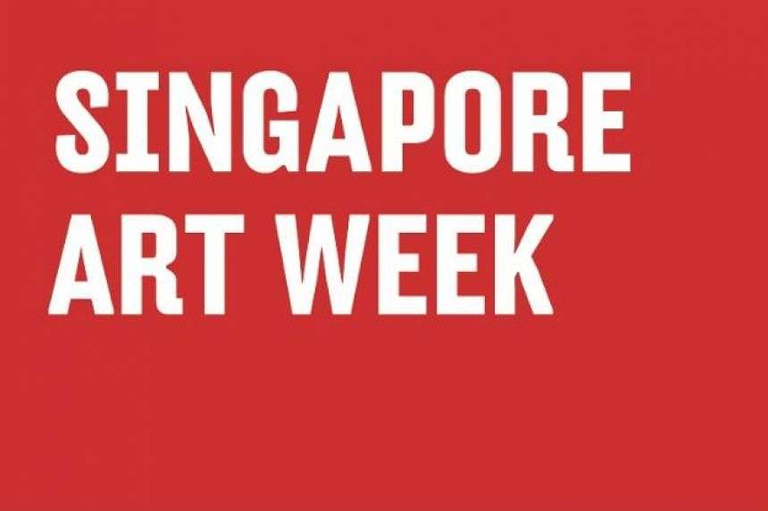 The Singapore Contemporary Art Show and the Art Apart Fair have not been included in the Singapore Art Week booklet, though they are listed on the website.