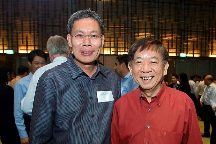 Mr Lui Tuck Yew (left) and Mr Khaw Boon Wan.