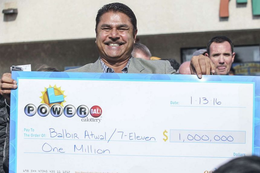 Balbir Atwal, owner of the California 7-Eleven that sold one of the 3 Powerball winning tickets on Jan 14, 2016.