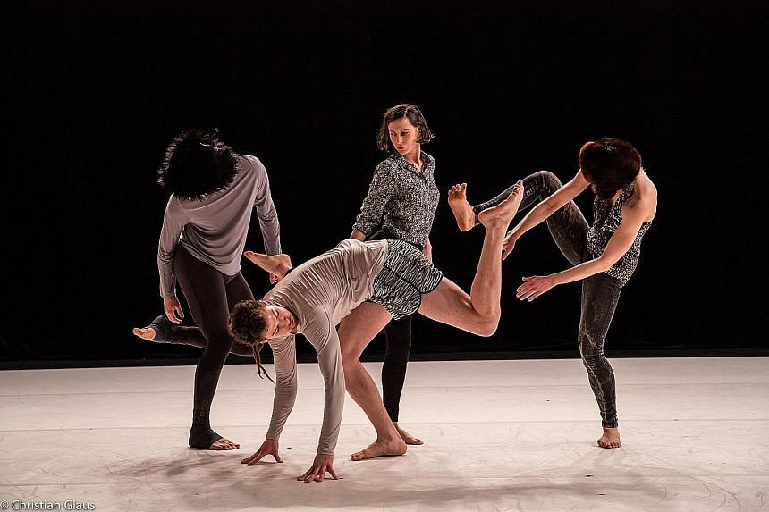 This light-hearted contemporary dance production (above) by Swiss dancer and choreographer Joshua Monten looks at the behavioural patterns of dogs, their need for attention and their unparalleled affection..