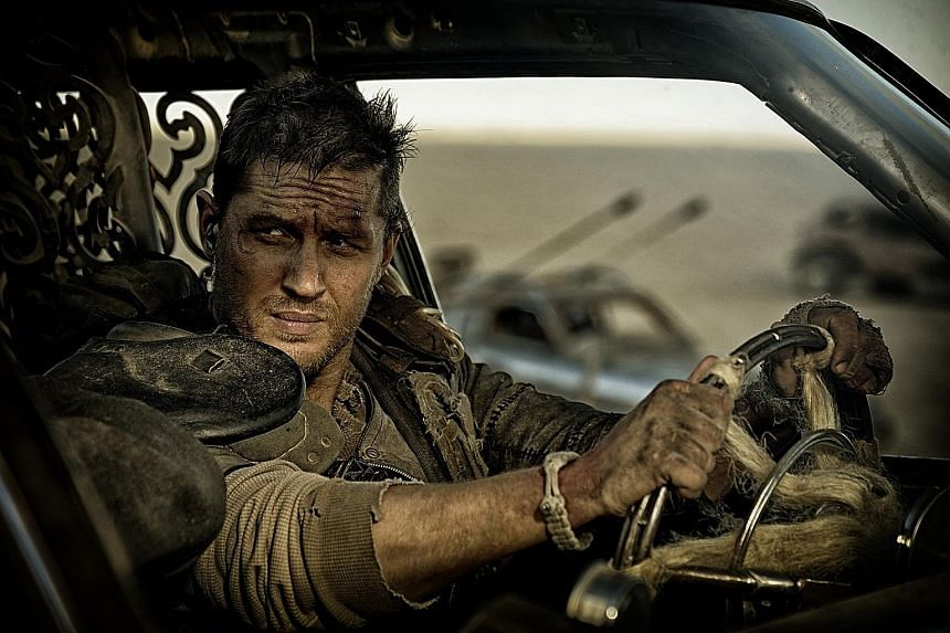 The Revenant leads the pack with 12 nominations, including Leonardo DiCaprio (right) for Best Actor, while Mad Max: Fury Road (above) garnered 10 nominations.