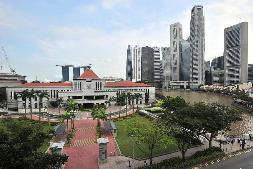 President Tony Tan Keng Yam will address the 13th Parliament at 8.30pm today at Parliament House (above), and outline the Government's goals and directions for its new five-year term.
