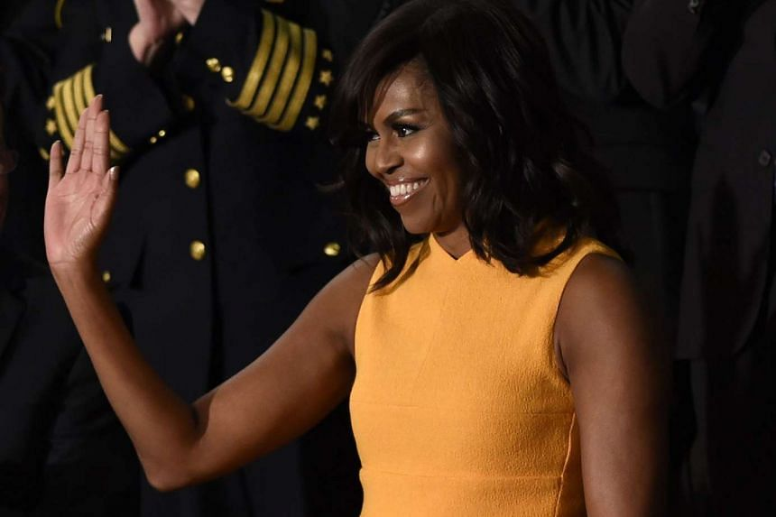 Polls have consistently shown Michelle Obama (above) is more popular than her husband.