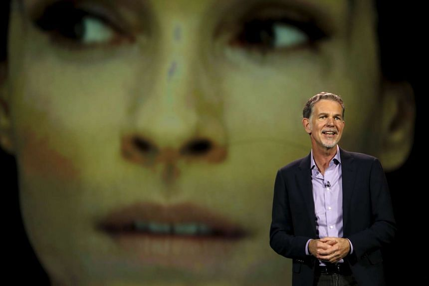 Netflix chief Reed Hastings announces the video-streaming service provider's expansion.