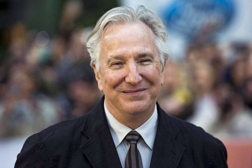 """Alan Rickman arrives for the """"A Little Chaos"""" gala during the Toronto International Film Festival in Toronto, in this Sept 13, 2014"""