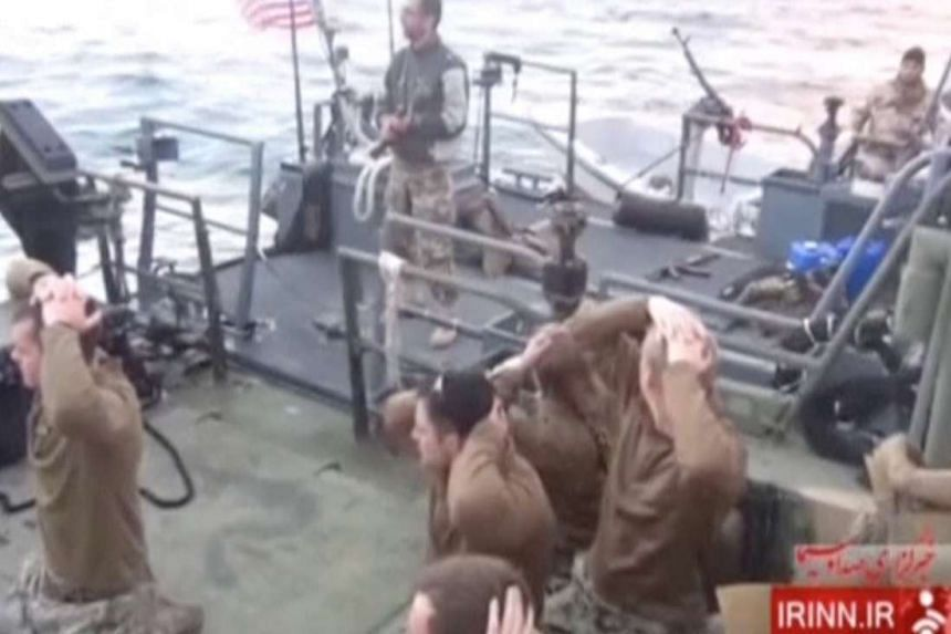 The US crew members of two patrol boats were detained on Tuesday, but were released less than 24 hours later.