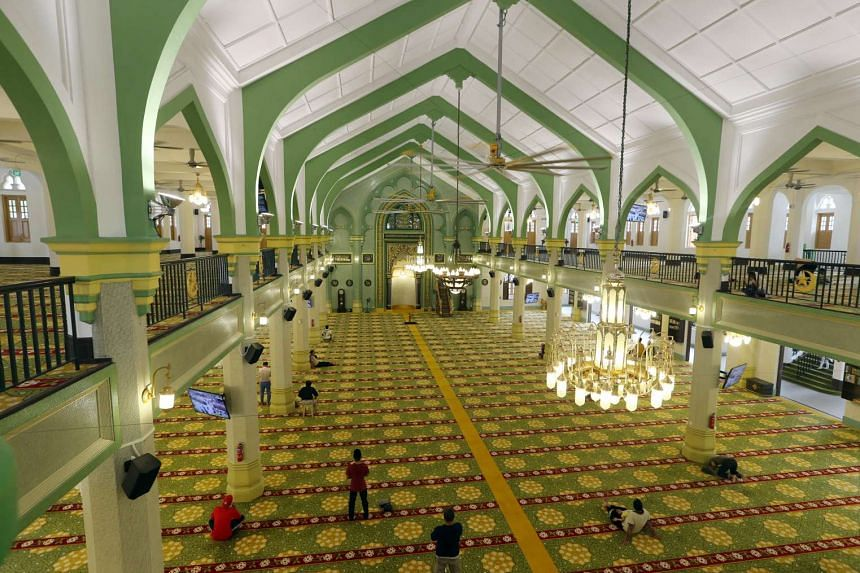 Addition and alteration works have officially been completed at Sultan Mosque.