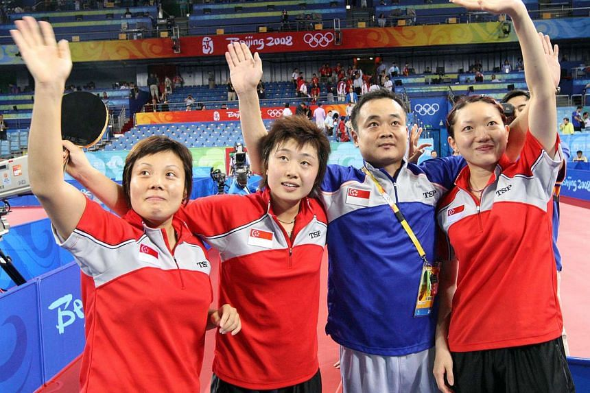 Singapore's national women's table tennis team have been drawn in the same group as third seeds Netherlands.