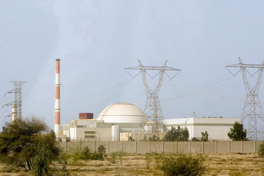 The reactor at the nuclear power plant in Bushehr, Teheran.