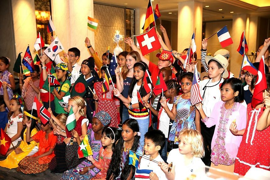 More than half of the diplomatic missions here were involved in the SG50 DipCharity Bazaar at the Shangri-La Hotel in October last year. It attracted more than 2,000 visitors.