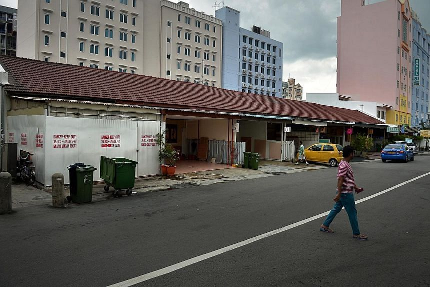 The properties donated more than half a century ago to fund a girls' school in India are believed to be worth between $25 million and $30 million and include 10 odd-numbered units in Lorong 18 Geylang (above).