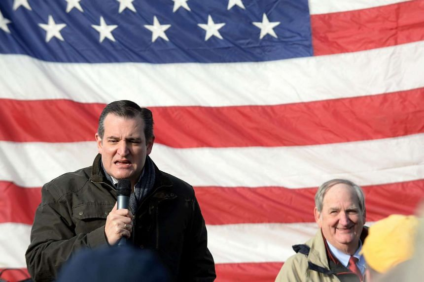 """Cruz (above left) insists he has met the constitutional requirements to be a """"natural-born"""" US citizen."""