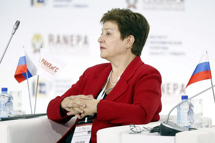 """European Commissioner Kristalina Georgieva said that helping victims of catastrophe and war is """"morally right and also in our own self-interest."""""""