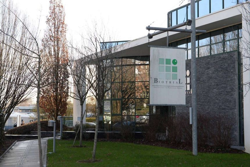 The Biotral laboratory in Rennes, France, at the centre of the tragedy.
