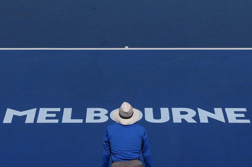 Eight of the suspected players were due to play at the Australian Open, the season's first Grand Slam tournament.