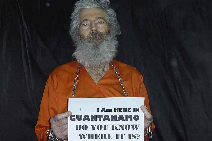 Robert Levinson, a former FBI agent and DEA agent, who disappeared in Iran since 2007.