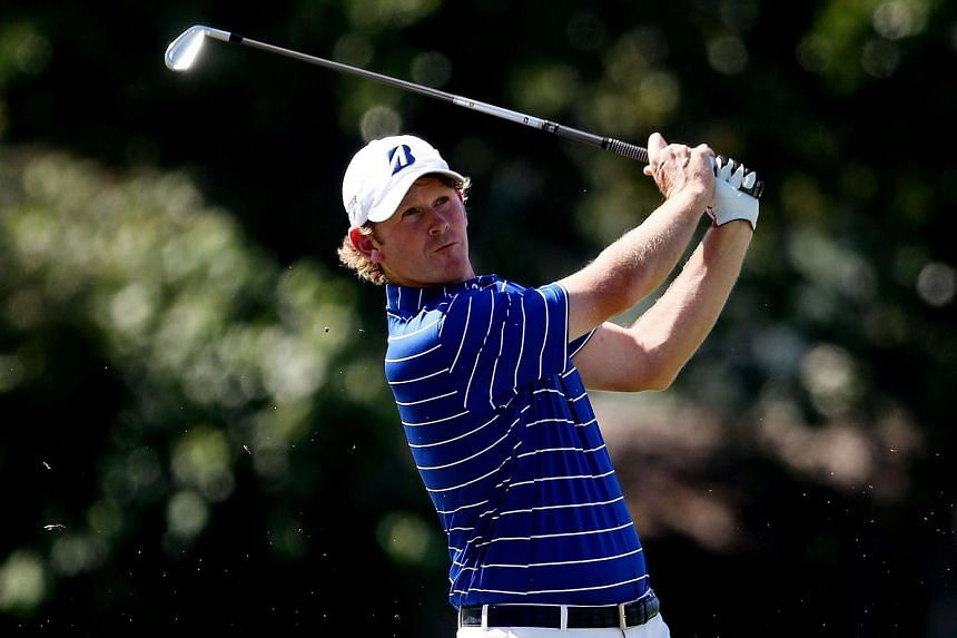 Brandt Snedeker plays a shot during the final round of the Sony Open In Hawaii at Waialae Country Club on Jan 17, 2016 in Honolulu, Hawaii.