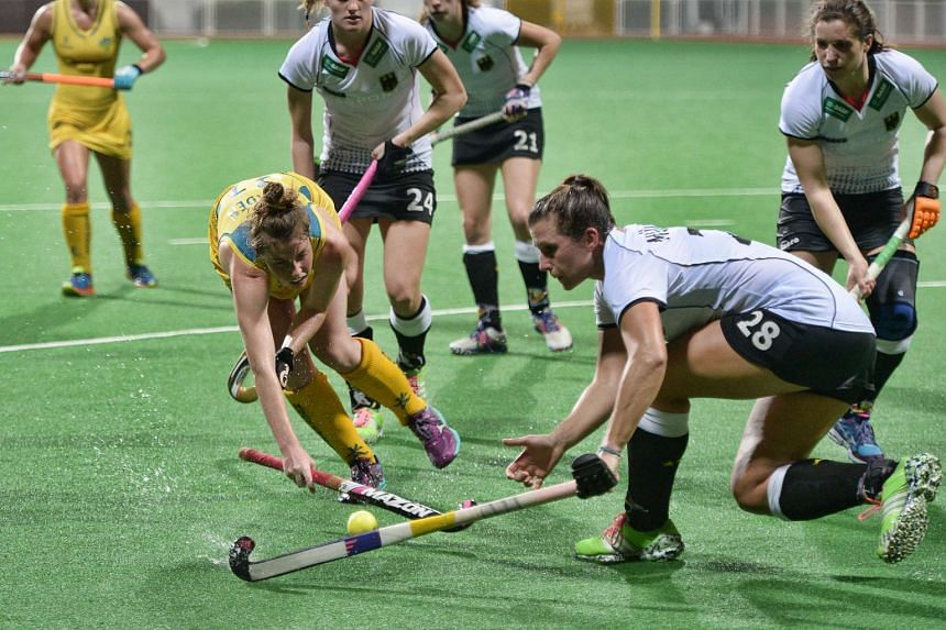 Australia were held to a 1-1 draw by Germany in the opening match of the inaugural TPG International Tri-Series tournament.