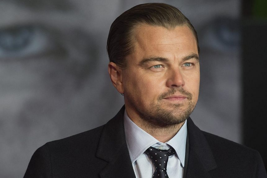 Leonardo DiCaprio arrives for the premiere of The Revenant in Leicester Square, London.