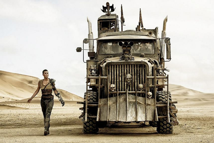 Surprise hit Mad Max: Fury Road landed 10 Oscar nominations.