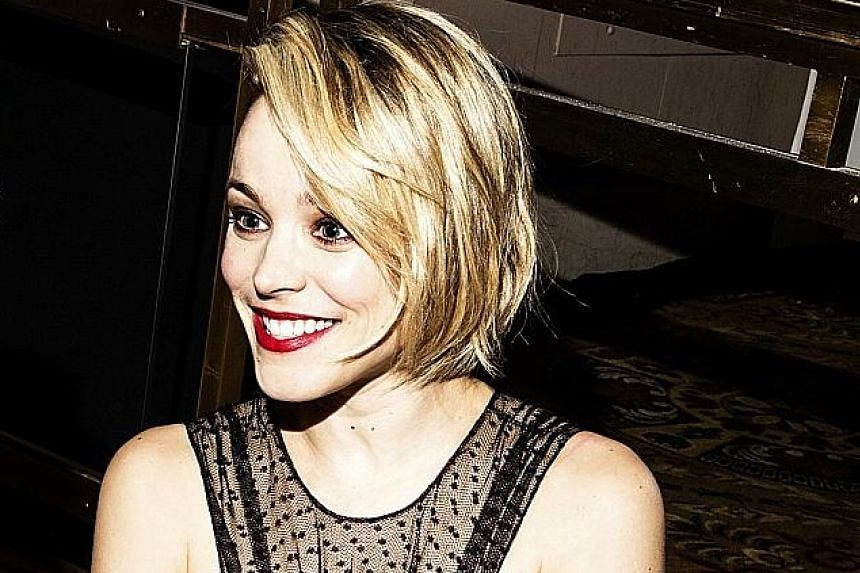 Ontario-born actress Rachel McAdams is best known for her roles in Mean Girls and The Notebook.