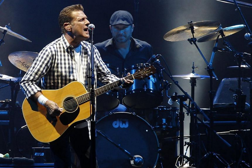 Glenn Frey performing at a concert in Monaco in 2011.